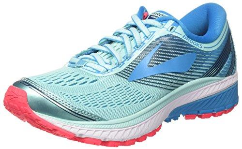 Brooks Ghost 10, Zapatillas de Running Para Mujer, Turquesa (Mint/Blue/Pink 1b462), 39 EU