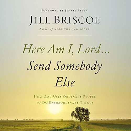 Here Am I, Lord...Send Somebody Else audiobook cover art