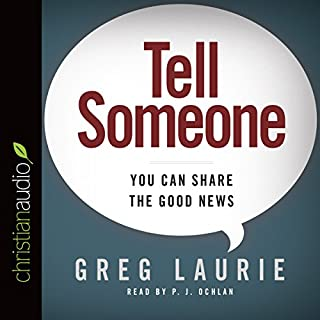 Tell Someone audiobook cover art
