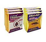 Jallad TREMORES BUG FIGHTER® Anti Cockroach Gel & Tremores Bedbug Killer - Pest Control (Pack of Six) 60 GMS Super Power Gel & Powder Base Formula bedbug killer products May, 2021