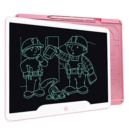 LCD Writing Tablet,Richgv 15 Inches Writing Doodle Board Electronic Digital Writing Pad for Kids and Adults at Home…>