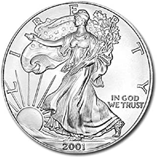 2001 silver dollar uncirculated