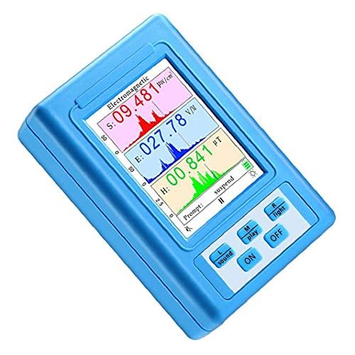 GGOOD Detector de radiación de Campo electromagnético del medidor EMF BR-9A Pantalla LCD Tester Contador Suministros industriales comunes
