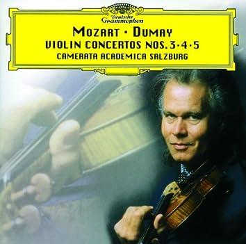 モーツァルト:ヴァイオリン協奏曲第3・4・5番