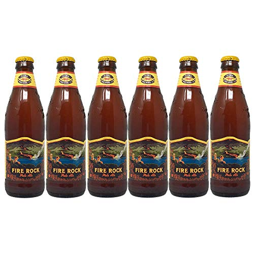 6 Flaschen Kona Bier Fire Rock a 0,355l aus Hawaii Pale Ale 6% Vol inc. 1.50€ EINWEG Pfand