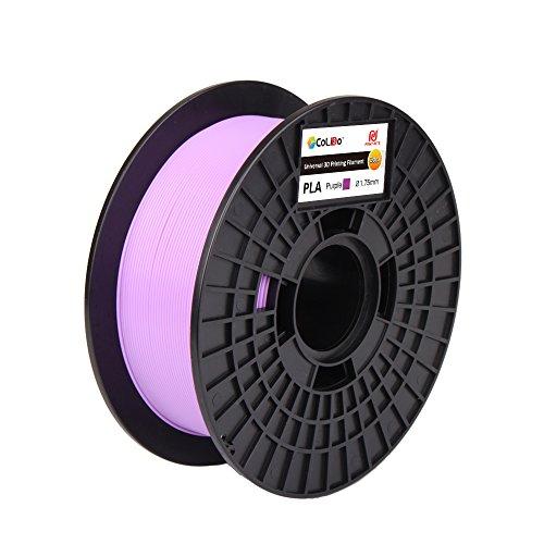 CoLiDo LCD002PQ7J, Filamento PLA Per Stampa 3D, 1.75 mm, Porpora, 1 kg