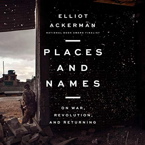 Places and Names audiobook cover art