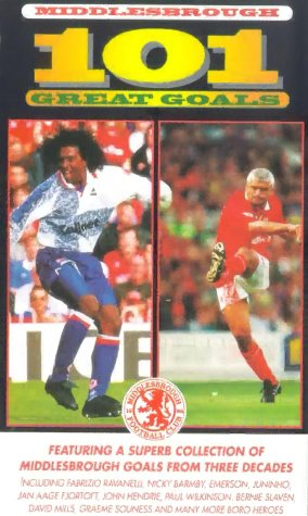 Middlesbrough FC - 101 Great Goals [VHS]