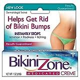 Bikini Zone Medicated Creme for Bikini Area 1 oz (Pack of 6)