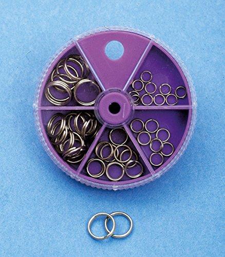 Springringe Sprengringe Dose - 5 verschiedene Größen (5, 6, 8, 10, 12mm)