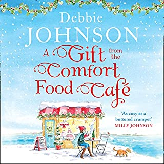 A Gift from the Comfort Food Café audiobook cover art