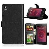 Qiaogle Téléphone Coque - PU Cuir Rabat Wallet Housse Case pour BQ Aquaris E5 / E5s / E5 HD / E5...