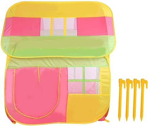 Bnineteenteam Kinderspielzelt-Spielhaus für Kinder zum Ausruhen, Spielen, Lesen usw. im Zelt