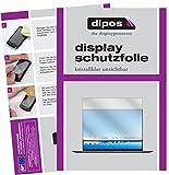 dipos I 2X Schutzfolie klar kompatibel mit Huawei MateBook X Pro Folie Bildschirmschutzfolie