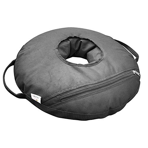 Abba Patio 22'' Round Umbrella Base Weight Bag Up to 55lbs, Detachable Easy Fill Umbrella Weight