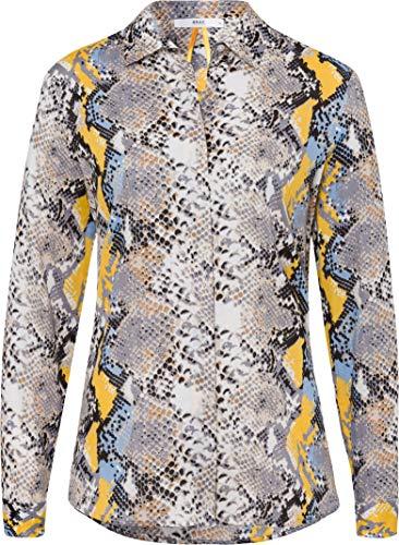 BRAX Damen Style Victoria Hemdkragen Bluse, Dove Blue, (Herstellergröße: 40)