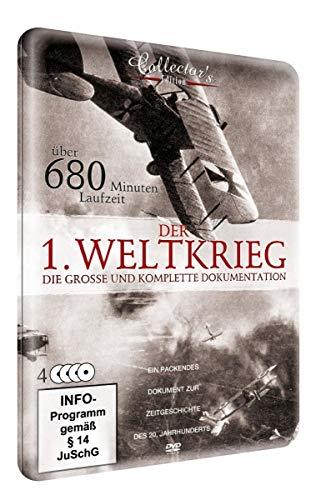 Der 1. Weltkrieg - Die komplette Geschichte (Metallbox) [4 DVDs]