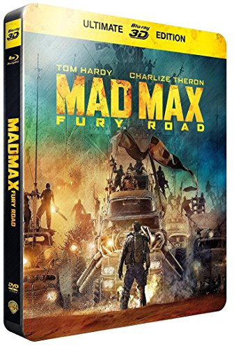 Mad Max: Fury Road (Metalpak / Futurepak) (STEELBOOK) (3D + Blu-ray)
