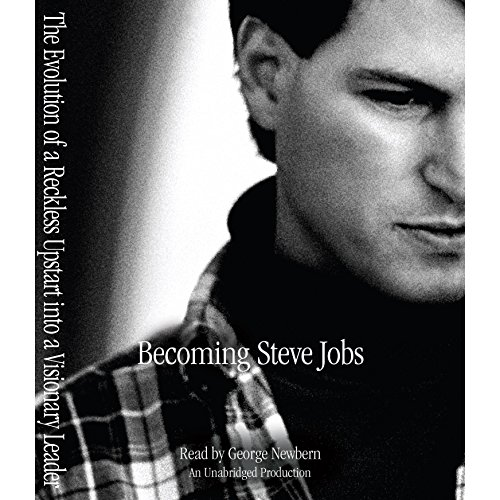 Couverture de Becoming Steve Jobs