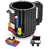 VANUODA Build on Brick Tasse, Building Blocks Mug Puzzle