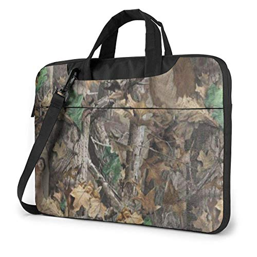 Laptop Sleeve Case,Realtree Camo Wallpapers Briefcase Messenger Notebook Computer Bag 15.6 Inch