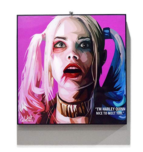 51JEHzYToyL Harley Quinn Canvas Wall Art