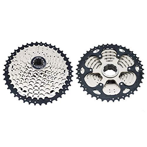 Cassette de vélo 8 9 10 11 12 Vitesses VTT vélo Support de Volant pignon Roue Libre de vélo 32 T 34 T 36 T 40 T 42 T 46 T 50 T 10 Speed 11-42T1