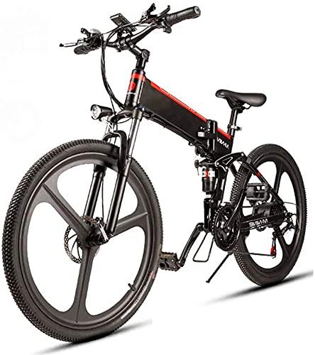CCLLA Bicicleta eléctrica de 26 '' para Adultos 350W Motor 48V 10.4AH...
