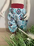 Pumphose Baby-Hose aus Baumwollsweat Gr. 74 / ca. 6 Monate