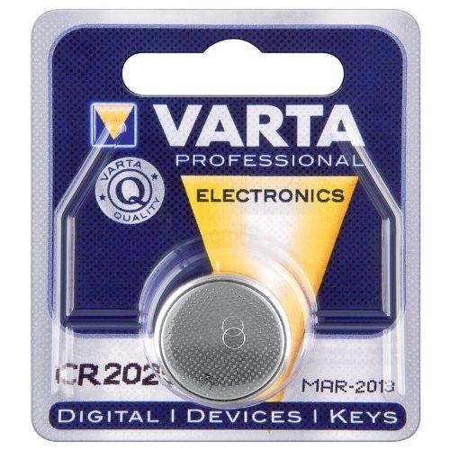 Varta cR 2025 lithium (30 pièces)