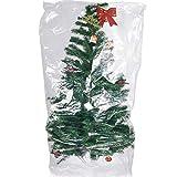 TUPARKA Cubierta Muebles Grande de 9 pies del árbol de Navidad Poli Bolsa de Almacenamiento 110' x 72' con pequeñas Bolsas de mudanza, 2 Set
