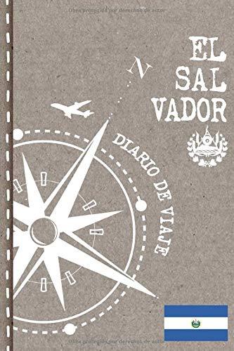 El Salvador Diario de Viaje: Libro de Registro de Viajes - Cuaderno de Recuerdos de Actividades en Vacaciones para Escribir, Dibujar - Cuadrícula de Puntos, Bucket List, Dotted Notebook Journal A5