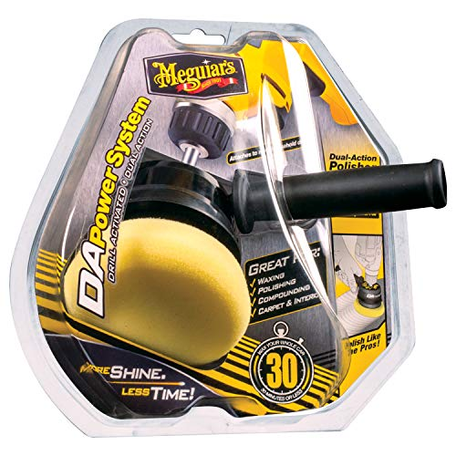 Meguiar's G3500 Dual Action Power System Tool – Boost Your Car Care Arsenal with This Detailing...