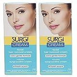 Surgi Facial Hair Removal Cream, Extra Gentle...