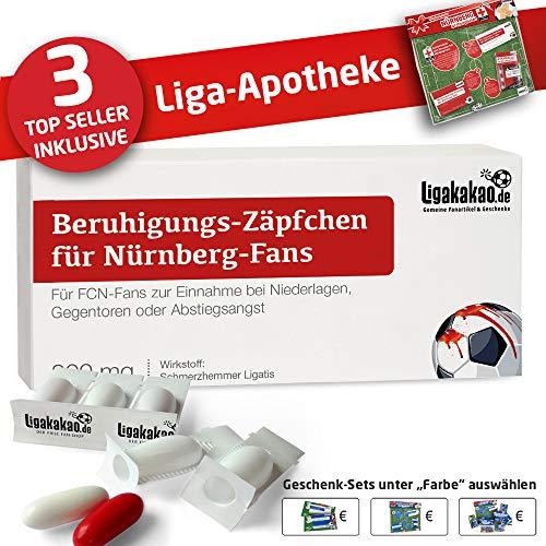 Alles für Nürnberg-Fans by Ligakakao.de Filzpantoffel ist jetzt die Liga-APOTHEKE