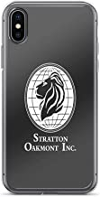iPhone X Case iPhone Xs Case Clear Anti-Scratch Shock Absorption The Wolf of Wall Street Stratton Oakmont Inc. Scorsese (in White), Wolf Cover Phone Cases for iPhone X/iPhone Xs