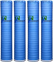 4 Rolls Of 800SQFT AMERIQUE Wood, Bamboo & Laminate Flooring Underlayment Padding with Vapor Barrier 3-in-1, 2MM Thick, (800SF total, Pack Of 4 Rolls, 200SF/Roll)