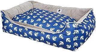 Petique Anchor's Away Reversible Pet Bed