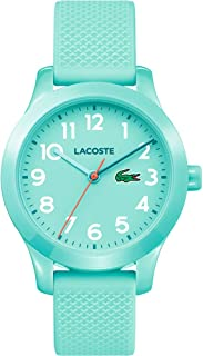 Lacoste Unisex-Child Quartz Watch, Analog Display and Silicone Strap 2030005