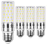 Sauglae E27 Bombilla de Maíz LED 15W, 4000K Blanco Neutro, 120W Incandescente Bombillas Equivalentes, 1500Lm, Edison Tornillo Bombillas LED, 4-Pack