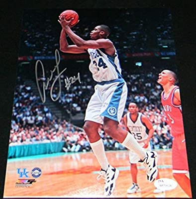 ANTOINE WALKER AUTOGRAPHED SIGNED KENTUCKY WILDCATS 8x10 PHOTO JSA - Autographed College Photos