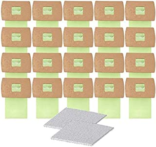 Best Yours 20Pcs Replacement for Oreck Buster B Vacuum Bags-PKBB12DW (2 Filters) Review