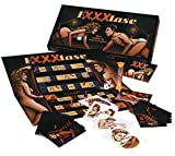 Orion 772410 Exxxtase Partnerspiel, mit Spielbrett, 4 Karten-Sets, 2 Spiel-Figuren, Sanduhr, 1 Wrfel