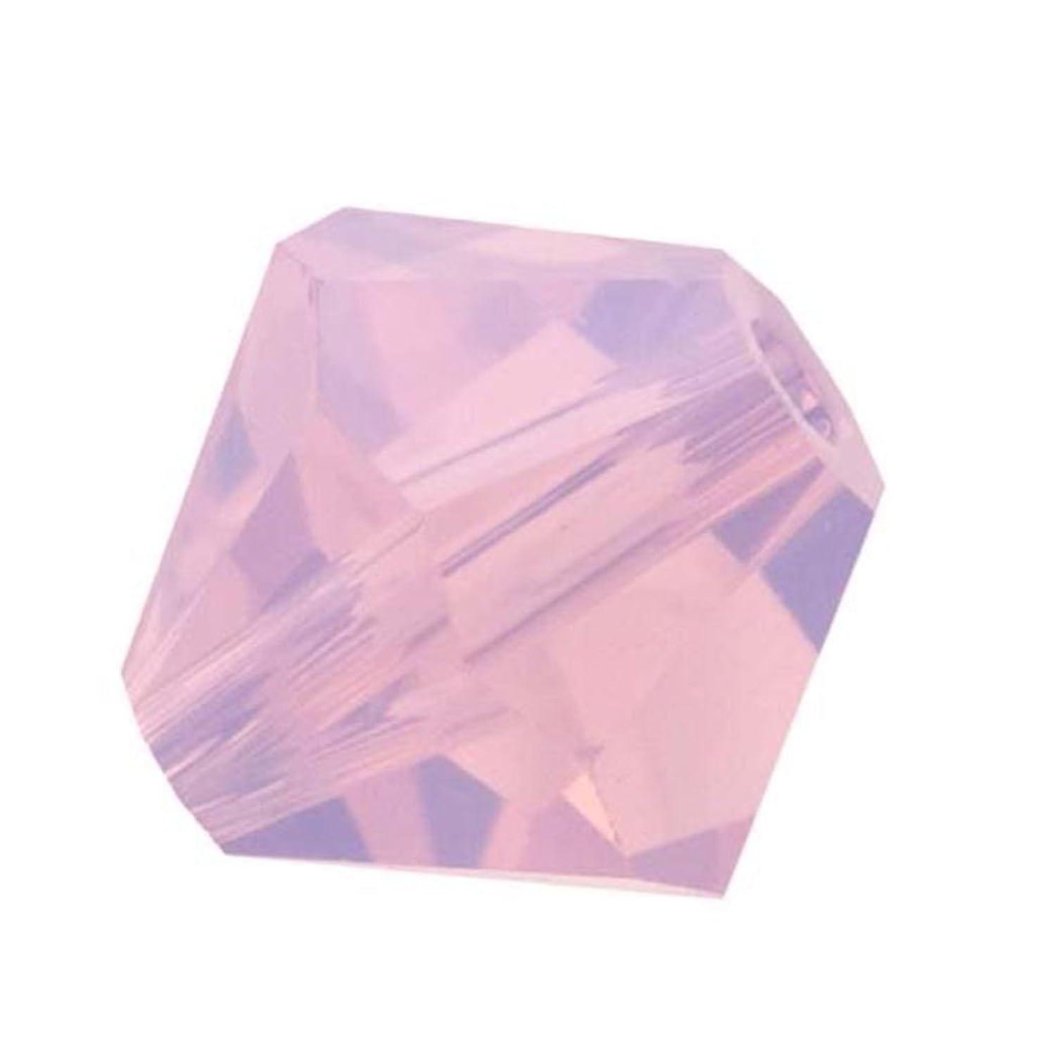 50pcs Genuine Preciosa Bicone Crystal Beads 6mm Rose Opal Alternatives For Swarovski #5301/5328 #preb649