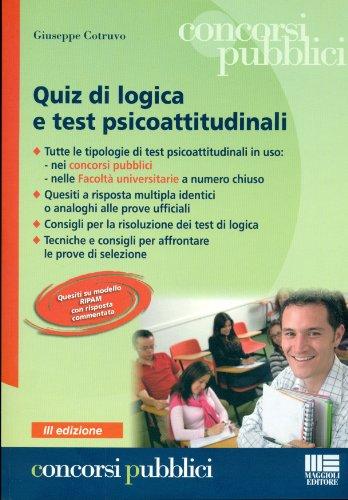 Quiz di logica e test psicoattitudinali