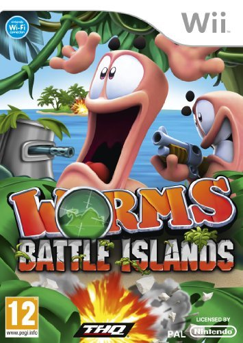 Worms Battle Islands (Wii) by THQ