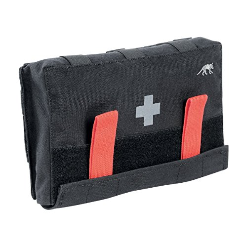 Tasmanian Tiger IFAK Pouch, Tactical MOLLE Medical Pouch, First Aid Bag, Rip Away Panel, Large, Black