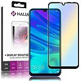 NALIA Cristal Templado compatible con Huawei P smart 2019, 9H HD Claro Vidrio Blindado Película...
