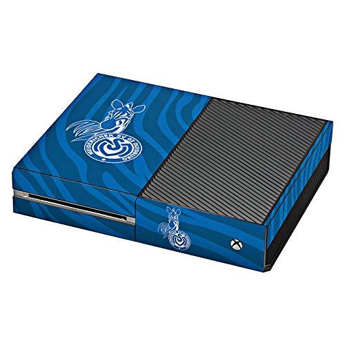 DeinDesign Skin kompatibel mit Microsoft Xbox One Folie Sticker Zebra MSV Duisburg Fanartikel