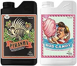 Advanced Nutrients Piranha and Bud Candy Plant Fertilizer Booster Enhancer Bundle (1 Liter)